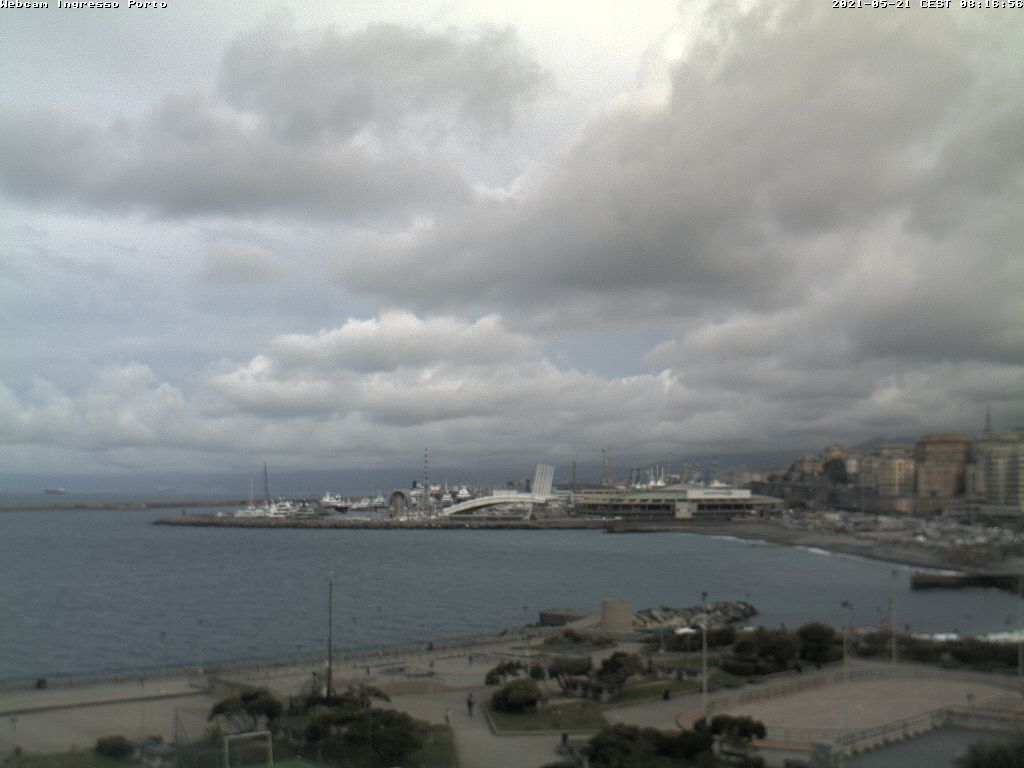 Webcam Genova Porto Commerciale