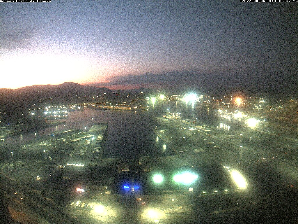 Webcam For The Port Of Genoa