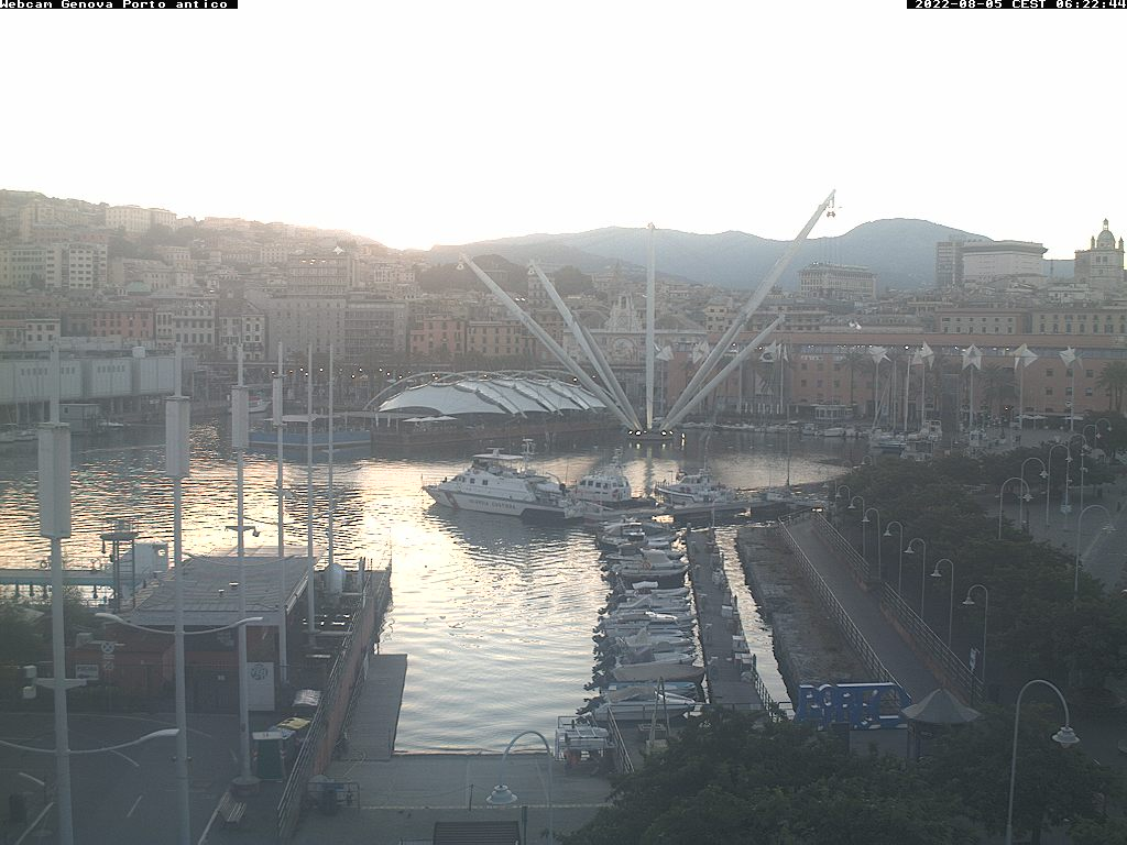 Webcam Genova Porto Antico (GE)
