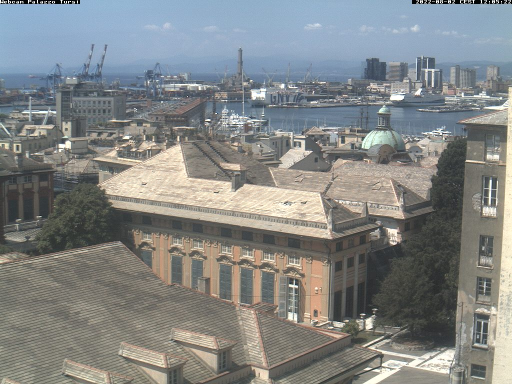Webcam Genova - La lanterna di Genova